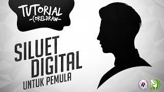 getlinkyoutube.com-Tutorial Cara Membuat Siluet Digital di CorelDraw  UNTUK PEMULA