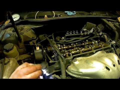 Toyota Camry (Тойота Камри) 2.4 регулировка клапанов