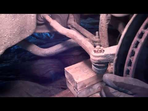 How to verify a tie rod end is worn