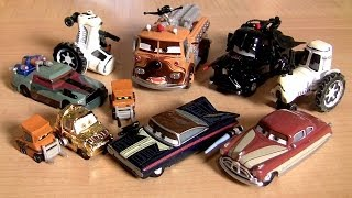 getlinkyoutube.com-CARS STAR WARS 2014 Chewbacca Han-Solo Obi-Wan Kenobi, Darth Vader Disney Theme Park toys