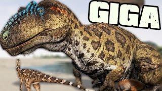 getlinkyoutube.com-The Isle - GIGANOTOSAURUS IS HERE! GIGA PACK GAMEPLAY
