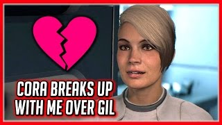Mass Effect Andromeda 💔 Cora Ends the Romance Because of Gil