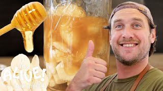Brad Makes Fermented Garlic Honey | It's Alive | Bon Appétit width=
