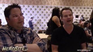 getlinkyoutube.com-SDCC 2015: Greg Grunberg & Jack Coleman - Heroes Reborn