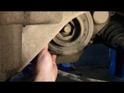 Хонда шатл открутился шкив коленвала