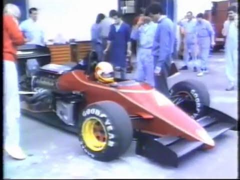 Balocco Test Run for new Alfa Romeo V10 engine. (Part 1)