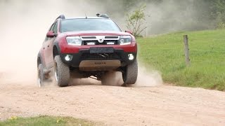getlinkyoutube.com-Dacia Duster Admirable 4x4 Offroad Test mit Bilstein B8 +10mm und Eibach Pro Lift Kit +25mm