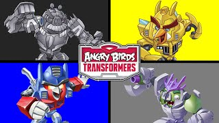 getlinkyoutube.com-LEARN COLORS WITH ANGRY BIRDS TRANSFORMERS SURPRISE EGGS | Colours for Kids | Learning Colors