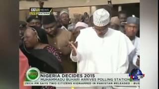 尼日利亚选民等待大选结果