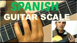 getlinkyoutube.com-How to Play a Spanish Guitar Scale For Improvising | Learn This Easy Am Harmonic Scale