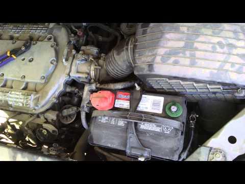 06 Honda Odyssey knock sensor, part 1