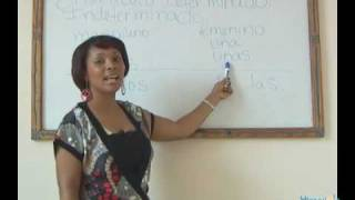 Learn Spanish Fast! Lesson 5 Articulo Determinado