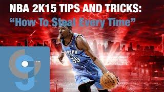 getlinkyoutube.com-NBA 2K15 How To Steal Every Time