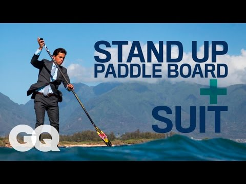 Stand Up Paddleboarding in Maui With Kai Lenny - Kai Lenny Style Challenge - GQ Magazine