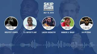 UNDISPUTED Audio Podcast (7.16.18) with Skip Bayless and Shannon Sharpe | UNDISPUTED