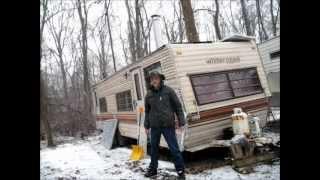 getlinkyoutube.com-My Off Grid Camper In Winter Snow Storm
