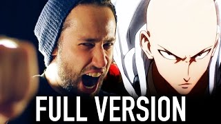 getlinkyoutube.com-One Punch Man FULL ENGLISH OPENING (The Hero - Jam Project) Cover by Jonathan Young