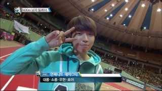 getlinkyoutube.com-[HOT] 아이돌 스타 육상양궁풋살컬링 선수권대회 2부 K-Pop Star Championships - 400m 남자 릴레이, 인피니트 금메달 획득! 20140131