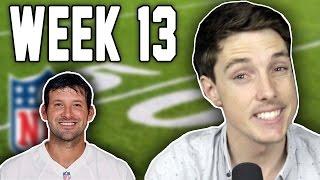 getlinkyoutube.com-RIP TONY ROMO -  LazarBeam Predicts NFL Week 13! ( NFL News and Predictions)