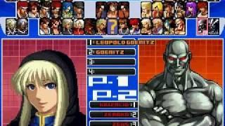 getlinkyoutube.com-Mugen The King of Fighters Screenpack - Boss Teams Fight