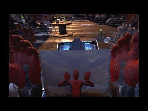 Spider-Man: Homecoming: Virtual Reality Experience (PS4)   © Sony Pictures VR 2017    1/1