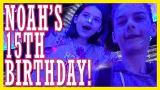 getlinkyoutube.com-NOAH'S 15th BIRTHDAY! EMMA HITS A JACKPOT!  |  KITTIESMAMA