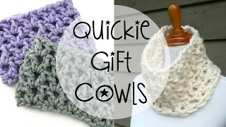 getlinkyoutube.com-How To Crochet Quickie Gift Cowls, Episode 363