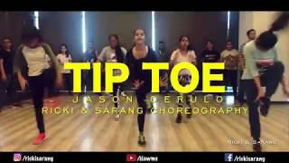 TIP TOE - JASON DERULO feat. FRENCH MONTANA | Ricki & Sarang | Mumbai Workshop