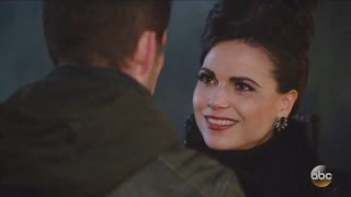 """Once Upon A Time 6x13 End Scene Ending Evil Queen & Robin """"Ill-Boding Patterns"""" Season 6 Episode 13"""