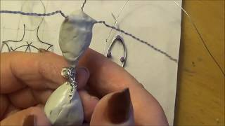 getlinkyoutube.com-Part 1 how to make  the core for an armature polymer clay doll