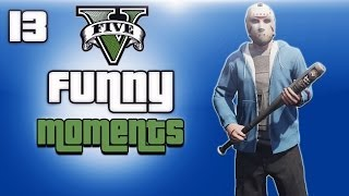 getlinkyoutube.com-GTA 5 Online Funny Moments Ep. 13 (H2O Vs Lui)