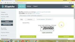 captcha typing job malayalam tutorial how to make money online