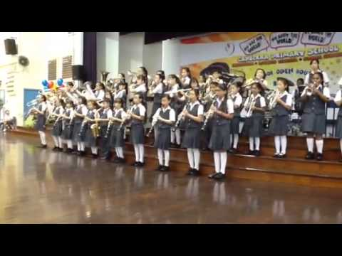 Harshi in school band