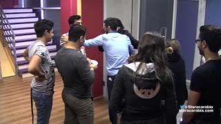 getlinkyoutube.com-لحظة رجوع حنان الخضر الى الاكاديمية من رحلة فرنسا - ستار اكاديمي 11 - 14/12/2015