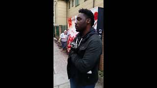 getlinkyoutube.com-Pregnant woman blasts anti-abortion protesters outside a clinic in London