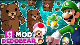 getlinkyoutube.com-WARNING!!! HILARIOUS PEDOBEAR INVADED MINECRAFT?? || GMOD Funny Moments - Pedobear Escape!
