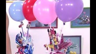 getlinkyoutube.com-Como Hacer un Arreglo con Globos iluminados con LED - fiesta -Hogar Tv  por Juan Gonzalo Angel