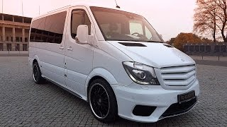 getlinkyoutube.com-Mercedes Sprinter AMG 2014