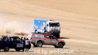 getlinkyoutube.com-KAMAZ VS IVECO.  NUMBER 1 VS NUMBER 2 OF THE DAKAR 2014