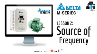 Lesson 2 Source of Frequency in VFD Variable Frequency Drive