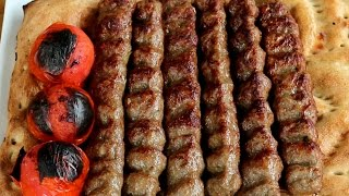 getlinkyoutube.com-Afghan Koobideh Kabab by International Cuisines