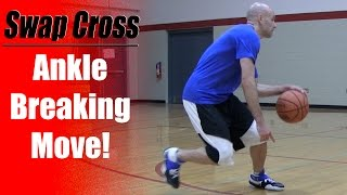 getlinkyoutube.com-Ankle Breaking Crossovers: SWAP CROSS - Crossover Moves To Learn | Snake