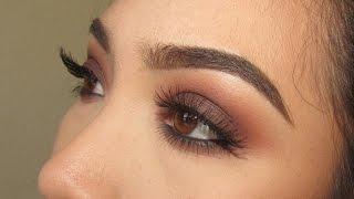 getlinkyoutube.com-Warm Brown Smokey Eye   Kat Von D Shade and Light Eye Palette