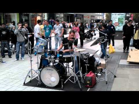 Oded Kafri: Incredible Street Drummer in Birmingham, England