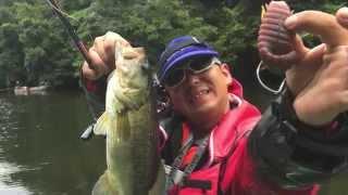 getlinkyoutube.com-【亀山ダムでバス釣り】ブルフラットでリミットメイク!トキタオープンHIDEUPカップに参戦【やっと釣れたよ後半戦】