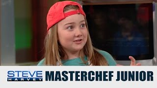 getlinkyoutube.com-MasterChef Junior: Strawberry Shortcake Cupcakes || STEVE HARVEY