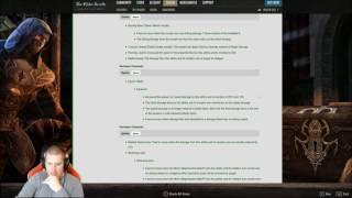 getlinkyoutube.com-ESO PTS Patch Notes Review 2.7.2 [Stream Highlights]