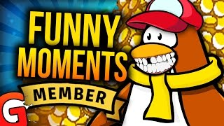 getlinkyoutube.com-BUYING MEMBERSHIP - Club Penguin Funny Moments #5 | MLG Dating