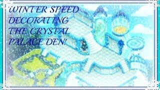 getlinkyoutube.com-Animal Jam: Speed Decorating The Crystal Palace Den!