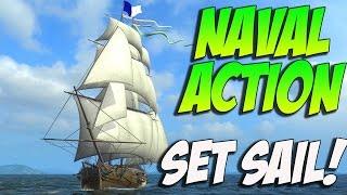 getlinkyoutube.com-Naval Action - SET SAIL! Naval Action Alpha Gameplay 60FPS